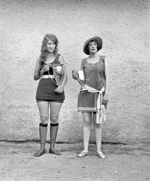 Washington Tidal Basin Beauty Contest, 1922.