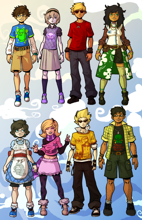 impomaniac:  bronzebasilisk:  daswiener:  So I put all my kid designs on one image. Did some minor edits, too.  Best kid designs?Best kid designs  Best kid designs.  Agreed ^