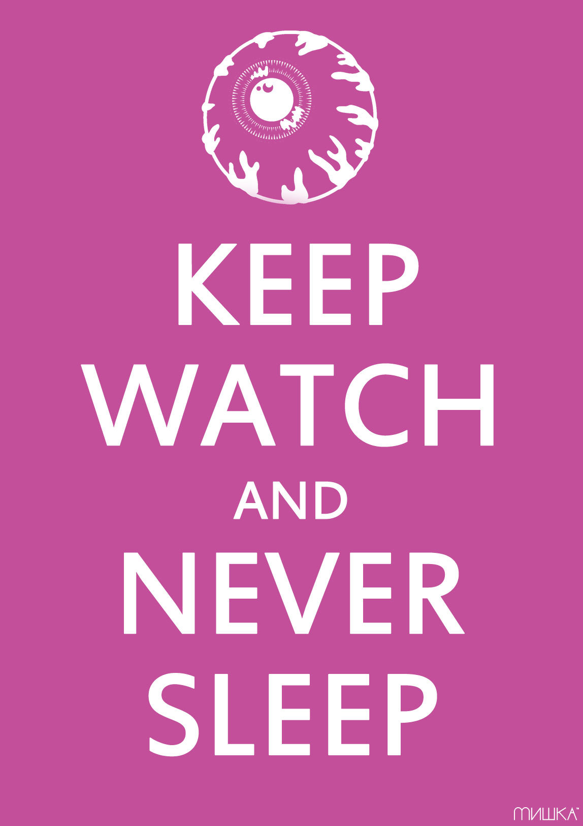 inconnuse:  Keep Watch & Never Sleep