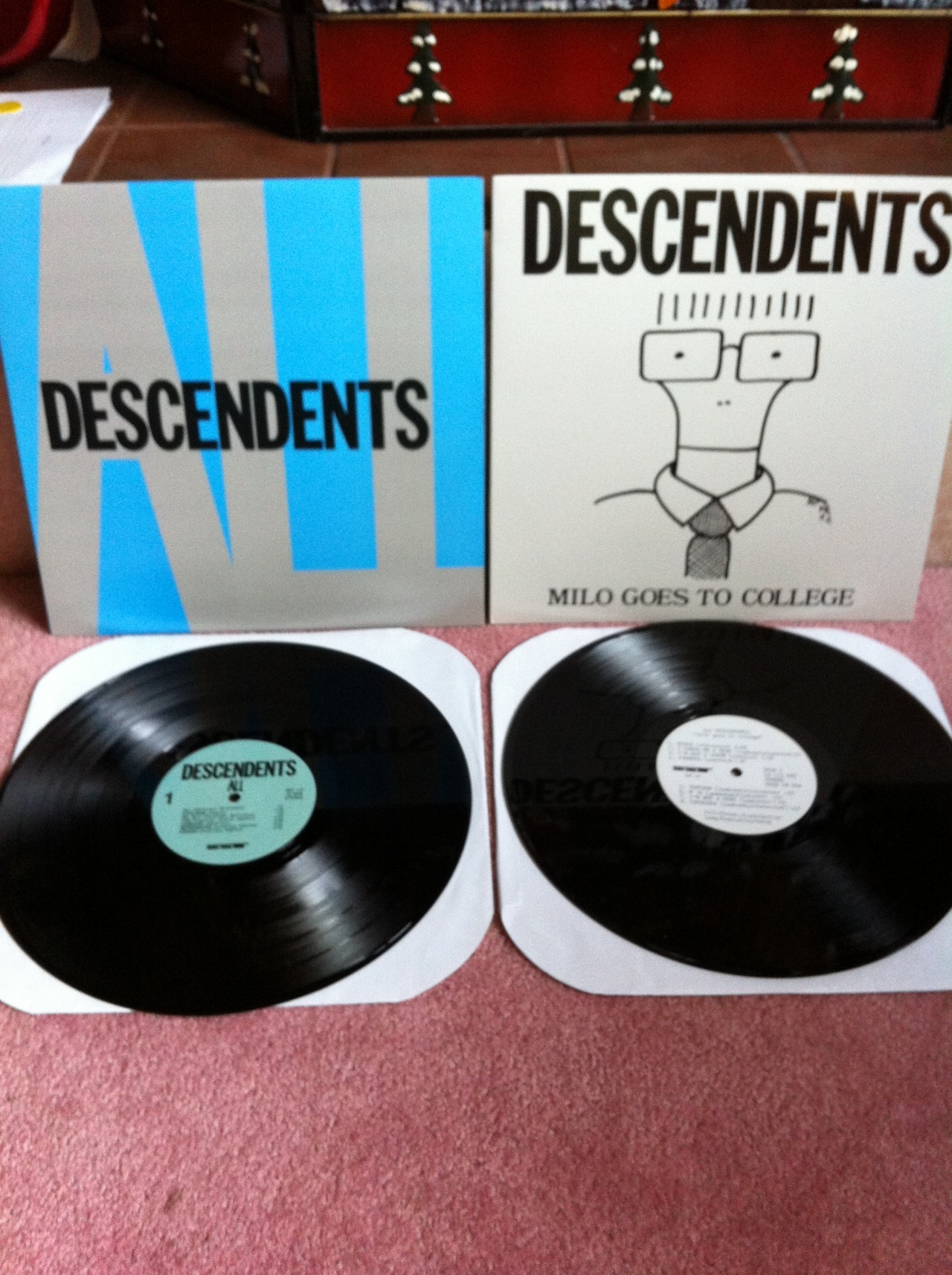 fortheloveofvinyl:  My favorite two Descendents albums.Submitted by drfaustushonesty