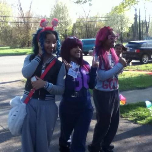 pinkyyinthebrain:  My girlss (: