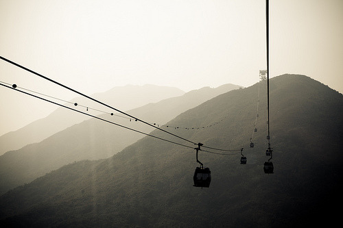 op1um:  Ngong Ping Again (by deleteyourself)