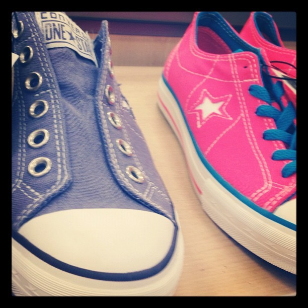 #colors #want #converse one o each please! <3 (Taken with instagram)