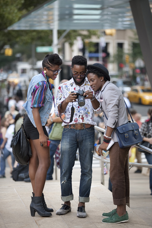 blackfashion:  NYFW 2011 - Noddy Nweke, Currant J swint & Funfere Koroye photography by Glen Allsop