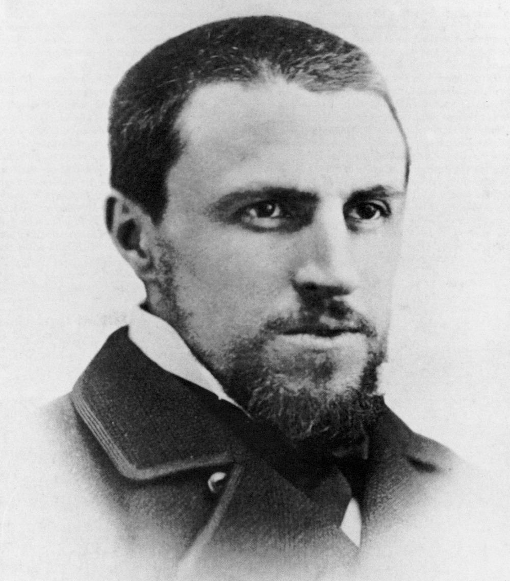 Gustave Caillebotte, age 30, c. 1878. French Impressionist boyfriend who came from lots and lots of money and who used it wisely, buying up Monet's work and helping him survive financially.  Submitted by Erin Machado