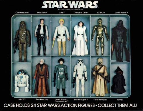 1977 Action Figure Collector's Case (Insert)