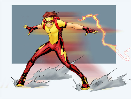 K is for Kid Flash by ~Mista-M