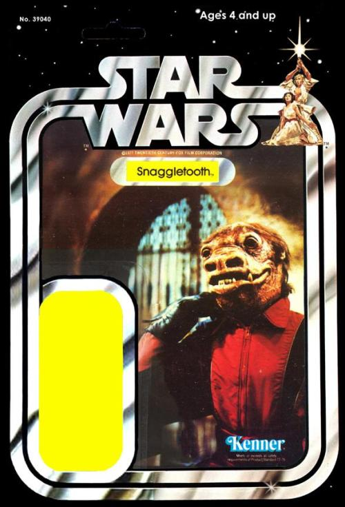 Kenner Snaggletooth - Card