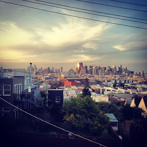 My Fair City (Taken with Instagram at Shalins San Francisco Castel)
