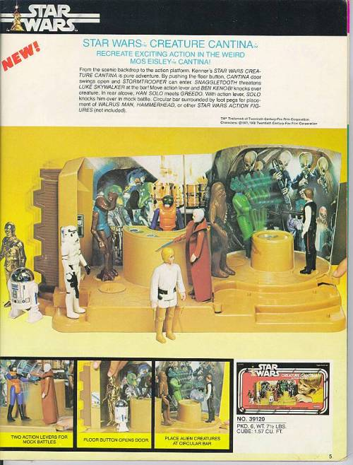 1979 Kenner Catalog - Cantina Playset