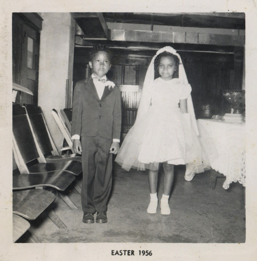 Junior Bride & Groom Easter, 1956 [Black Bride Series] ©WaheedPhotoArchive, 2012