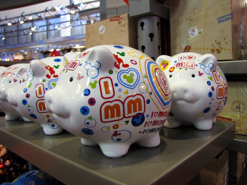 magicaldisneyworld:  Piggy Banks on Flickr.