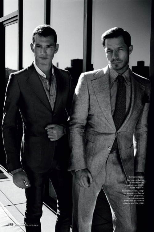 mensfashionworld:  Paul Sculfor and Christopher Folz for GQ Style Russia