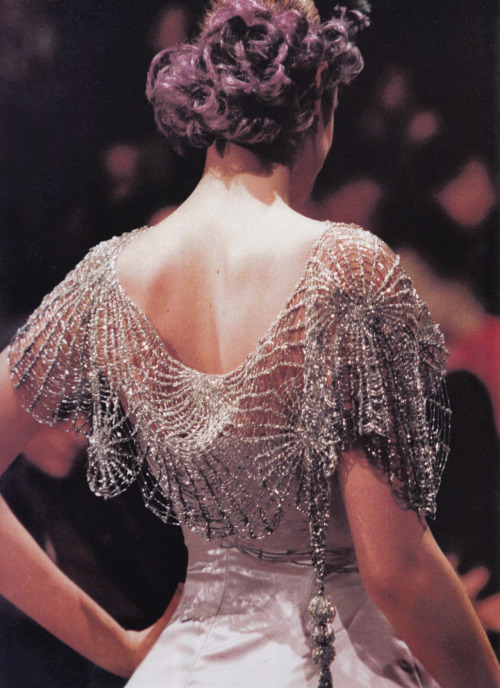 royaume:  Givenchy Haute Couture by John Galliano Spring/Summer 1996 photographed by B. Pellerin