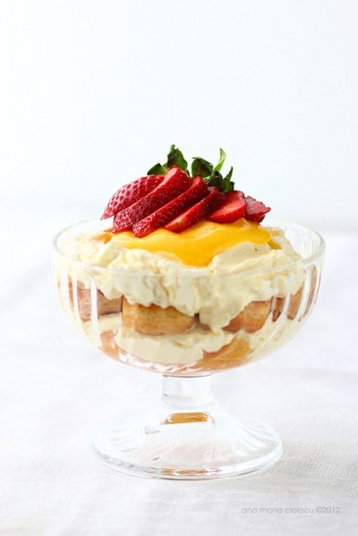 xomgitsnikkiix: Lemon Tiramisu Recipe (scroll down for english)