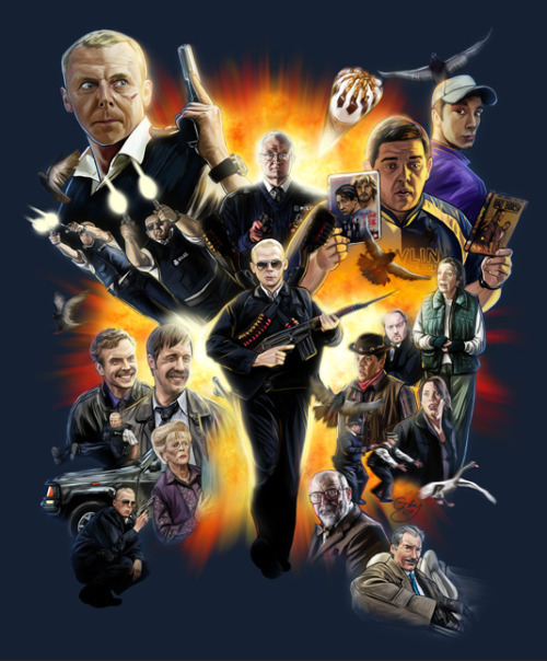 Hot Fuzz - by Sam Gilbey Website || Society6 || Flickr || Twitter