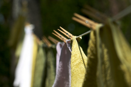 good:  Don't let your dirty laundry be a dirty environmental habit. A single load in the washing machine can use up to 40 gallons of water. You can't stop washing your clothes altogether (this is, after all, spring cleaning month), but you can follow a few tips to save water, choose greener products, or even go low-tech. Spring Cleaning: Hang Up Your Laundry Habits  Since I know y'all won't click the link (I wouldn't have if I weren't running this blog), here are the highlights: Only wash full loads to avoid wasting water. Permanent press cycle uses extra gallons of water for a second rinse. Wash on cold, because water heating is the home's second biggest energy suck. Do it at the laundromat! The bigger washers and dryers use energy more efficiently.