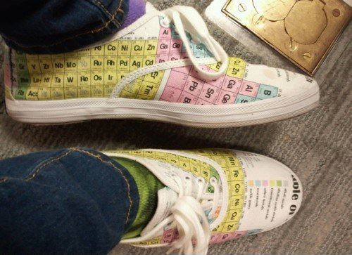 Periodic Table Shoes