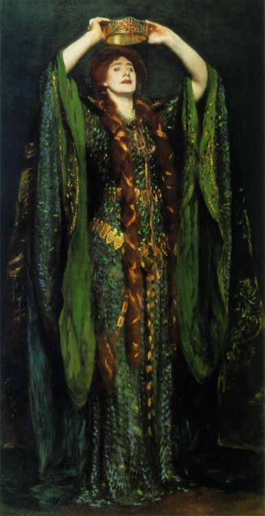 noiseman:  Ellen Terry as Lady MacBeth by John Singer Sergeant, 1889.