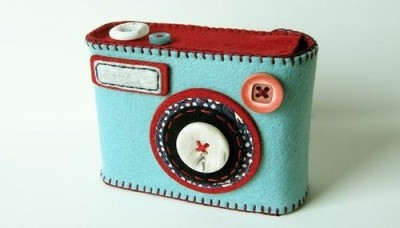 DIY Felt Camera/Phone Case!