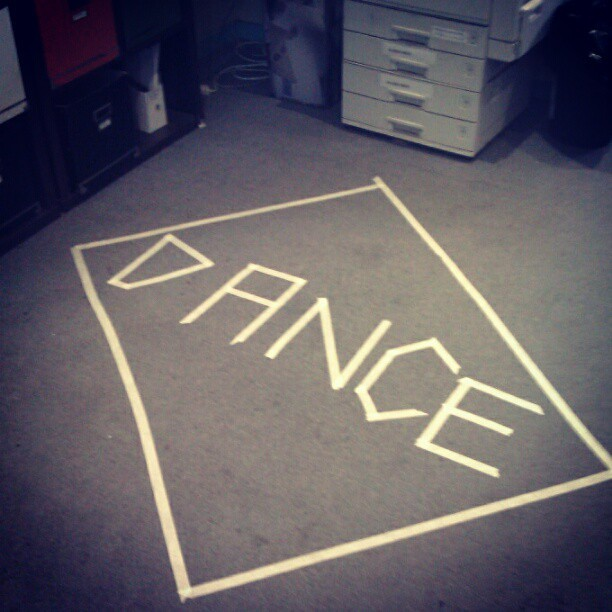 My place of employment has a dance square. Why doesn't yours?