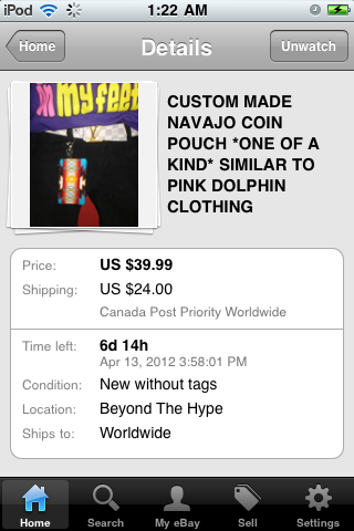 Hop onto Ebay right now and buy the fashion trend of 2012!!!