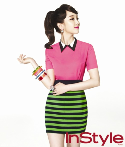Instyle Korea Model: Kim Min Seo April 2012