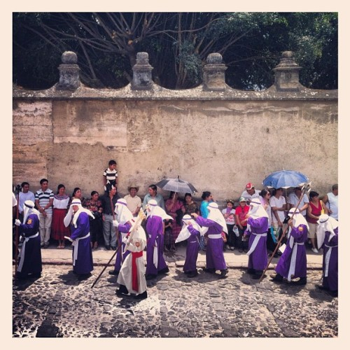 More Semana Santa  (Taken with Instagram at Antigua, Guatemala)