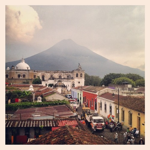 Volcan Aqua just after a rain storm (Taken with instagram)