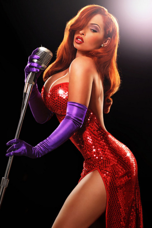 Jessica Rabbit as shot by Ryan Astamendi (via io9)