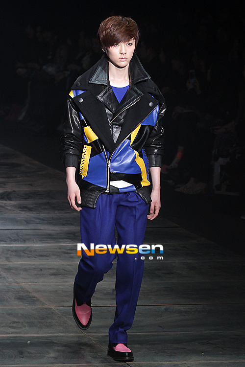 Minhyun in Seoul Fashion Week