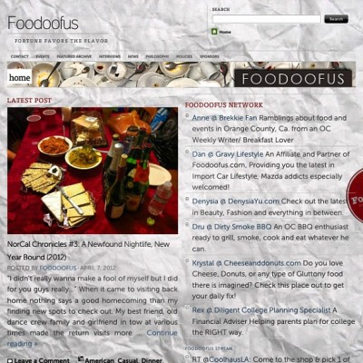 Another new issue of #foodoofus : New Year's Wrap Up w/ finishing updates in store… #foodporn #foodpics  #photography #blogging #journalism #bayarea #california #worldwide (Taken with Instagram at Foodoofus Lab)