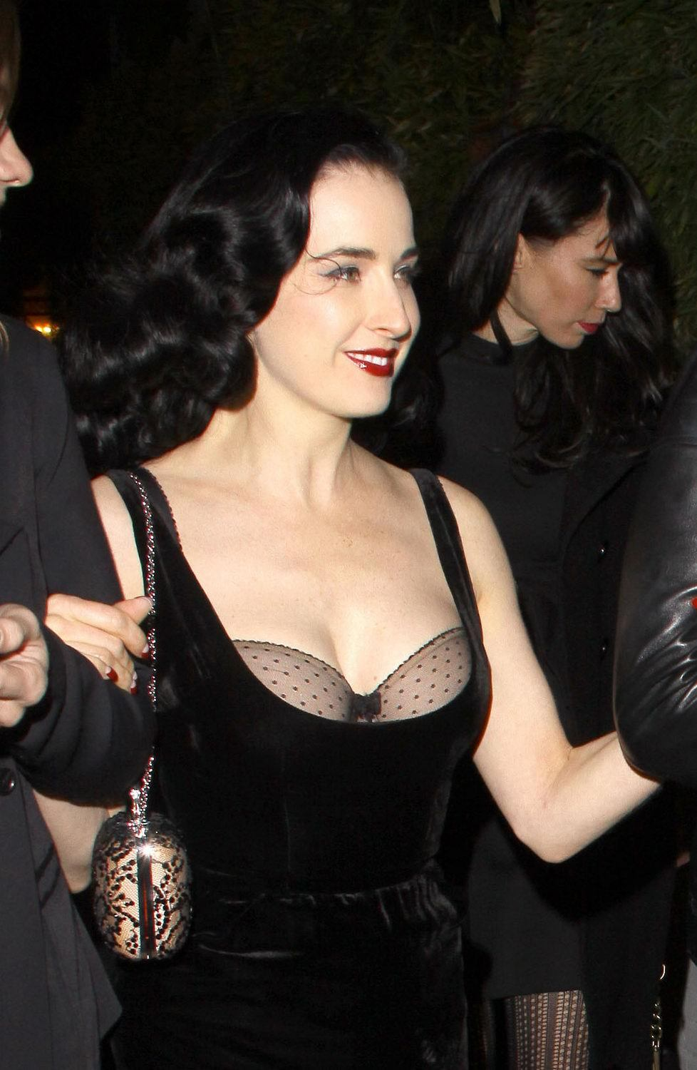 Dita Von Teese at Chateau Marmont, April 5th