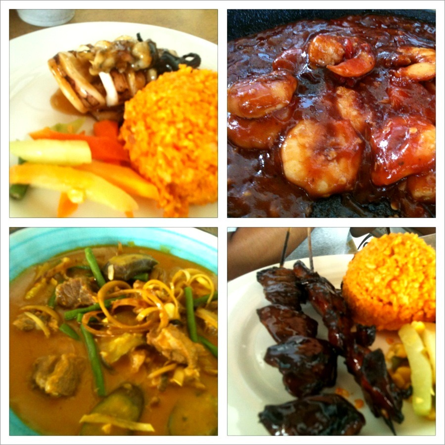CWC's Grilled Squid, Sizzling Gambas, Kare-Kare, & Barbeque ♥ CamSur Watersport Complex is not only known for wake boarding but with awesome food as well!!! :) Alchemy all enjoyed having lunch at CWC. I just love their kare-kare! Undoubtedly, CWC made my vacation at CamSur extra memorable with that very satisfying and hearty lunch! I just can't wait to be back at CamSur again!