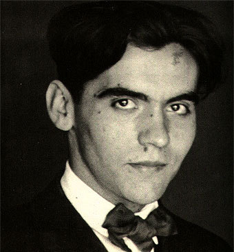 fuckyeahhistorycrushes:  Federico Garcia Lorca (5 June 1898 – 19 August 1936). Spanish poet and dramatist, most famous for writing the poetry collection Romancero gitano (1928), and the play Bodas de sangre (written 1932). Both works refer to and were inspired by gypsy culture and flamenco, which make perfect sense because he was born in Granada, Andalusia, where flamenco and gypsy culture were most prevalent. While studying in Madrid he became close friends with two other notable figures of Spanish modern art: the painter Salvador Dali, and the filmmaker Luis Bunuel. The friendship between Dali and Lorca was especially close, though later events in their lives would cause the friendship to fragment.Politically-minded on top of being artistic, he met an untimely death when he was executed during the Spanish Civil War.So: poet, dramatist, activist. A dynamite combination under any circumstance, but he's Spanish. And gorgeous. Look at those eyes! They're killer!