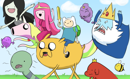 """Adventure Time is a show about the LSD fueled hallucinations of a liberally raised small child, Finn, and his dog, Jake, who appears to have been date-raped, probably by a cat or a hippie, because dogs are innocent and incapable of voluntarily consuming drugs. Adventure Time is basically a Beatles song mixed with a Lady GAGA music video wrapped up in an erotic package reminiscent of a cross between GLEE and Jersey Shore. Despite its large viewership among 20-something serial killers, it is on Cartoon Network, which means that many youth, especially those with negligent liberal or immigrant parents, are being brainwashed by its blatant messages of self-destruction and evil in the most colorful fashion possible."" (via Is Adventure Time A Gateway Drug To LSD, Homosexuality and the Rave Lifestyle? • ChristWire) Man, I love Adventure Time, but if I got as much out of it as this dude, it would totally be my favourite show EVAR."