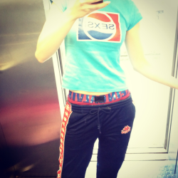 Sexsi Pepsi,Kappa and Calvins is how I roll! #AlexisAttire