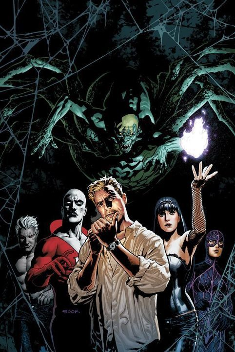 Il supergruppo del giorno Justice League Dark di Ryan Sook