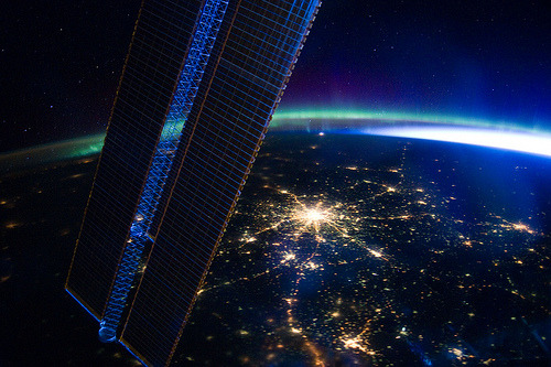 fleeckr:  Space Station Over Moscow (by NASA: 2Explore)