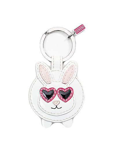 Celebrate Easter with cute bunny-themed extras, like this quirky key chain from Coach. Check out more top picks here » coach.com