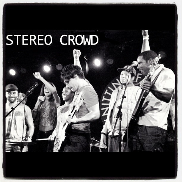 #stereocrowd . Play it loud.  (Taken with instagram)