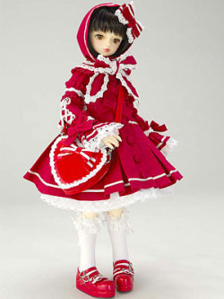 red sweet lolita doll