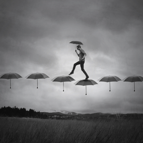 artchipel:  Joel Robison | Boy Wonder - Rain Walk