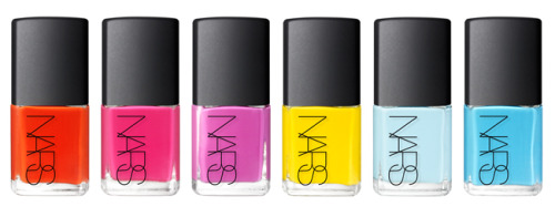 Thakoon for NARS Nail Collection.  I. Want. Them. All. Full story on Polish Police.