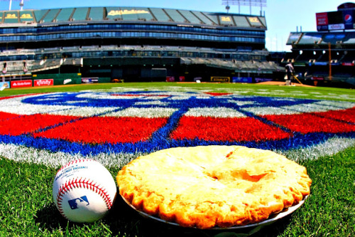 What goes better together than Opening Day and Apple Pie?