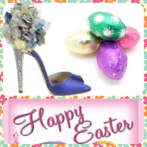 Happy Easter Shoe Lovers! Enjoy this lovely weekend.  (Taken with instagram)