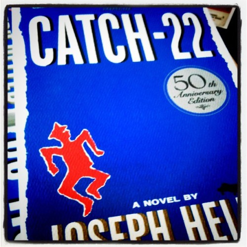 Catch-22 #americannovel #paperback #fullybooked  #mnl #iPhoneonly #igers #iPhoneography #igersmanila #ispygram #IG #picoftheday #webstagram #iPhonedaily #iPhone4S #fotografiaelite #fotografiaunited #iPhoto #photooftheday #instagramer #instago #instadaily #igaddict #instalove #bipolartistkiddo (Taken with instagram)