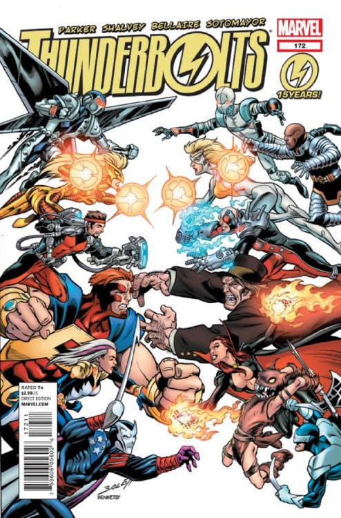 Thunderbolts #172, June 2012, written by Jeff Parker, penciled by Declan Shalvey