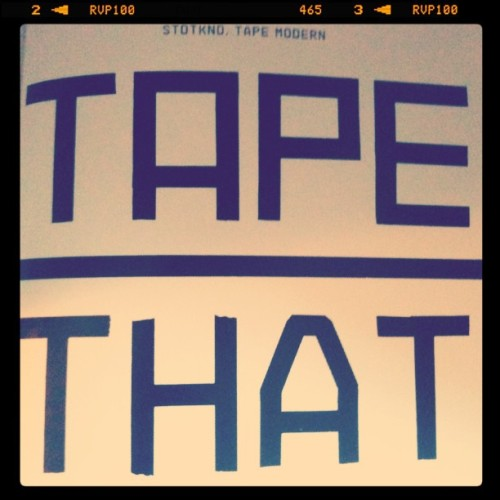 Yeah. I tape that! #typography #pageone #graphicdesign #mnl #iPhoneonly #igers #iPhoneography #igersmanila #ispygram #IG #picoftheday #webstagram #iPhonedaily #iPhone4S #fotografiaelite #fotografiaunited #iPhoto #photooftheday #instagramer #instago #instadaily #igaddict #instalove #bipolartistkiddo (Taken with instagram)