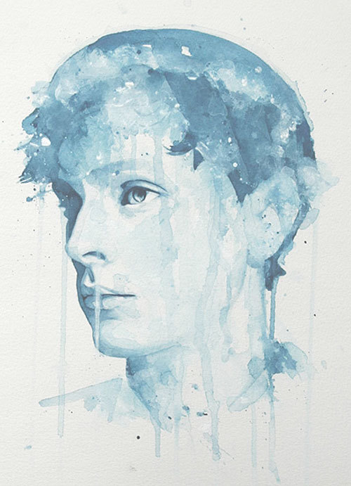 Watercolour painting by Molly Brill.